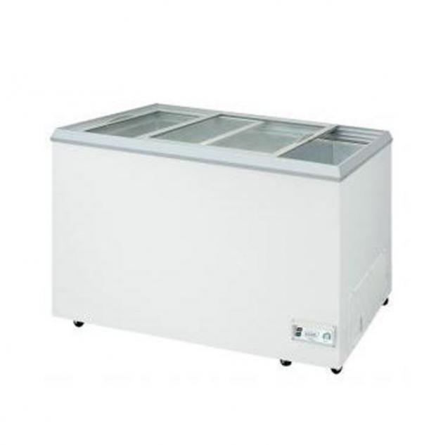 玻璃對拉式冰櫃 1